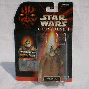 Star Wars Episode 1 TPM Boss Nass Gungan Figure