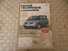 REVUE TECHNIQUE RENAULT ESPACE 4 DIESEL DEPUIS 09/2002 1.9 DCi et 2.2 DCi
