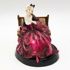T160: RARE ANTIQUE ROYAL DOULTON & CO PROPOSAL LADY HN 715 PORCELAIN FIGURINE