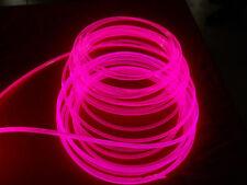 3mm *10M 32ft Car Home LED Lighting Decoration Side Glow Fiber Optic Cable DIY
