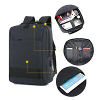 "Waterproof Swiss Travel Backpack Men 15.6"" Laptop Outdoor School Bag"