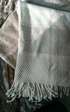 Laura Ashley 100% Cotton Decorative Throws