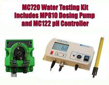 Milwaukee MC720 Water Test Kit Contains MC122 pH Controller w/ MP810 Dosing Pump