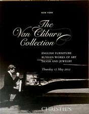 Christie's NYC the Van Cliburn Collection, catalogo di asta auction may 2012