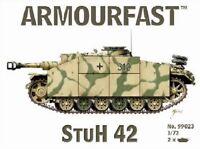ARMOURFAST 99023 WWII German StuH 42 Tank 2 Model Kit 1/72 AIRFIX FREE SHIP