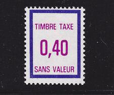 FRANCE TIMBRE FICTIF TAXE FT36 ** MNH neuf sans charnière, TB, cote: 8 €
