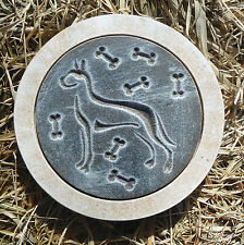 "Great Dane Dog mold plaster concrete mould 10"" x 1.5"" thick"