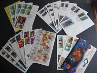 CANADA 18 different FDCs from 1994 a nice group here! PLZ read description!