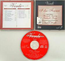 I DUE FOSCARI VERDI VOL 2 CD HOBBY & WORK  RICCIARELLI CARRERAS