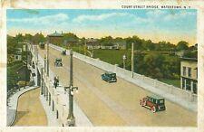 Court Street Bridge Watertown New York Postcard