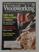 Popular Woodworking - Shaker-Inspired Cherry Bookcase, Tool Review Plans #180