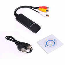 Easycap USB 2.0 Video TV DVD VHS Audio Capture Card 3 in 1 for Win7 Win8 OS