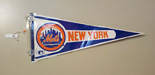 NEW YORK METS VINTAGE MLB FELT PENNANT 04/25/2020