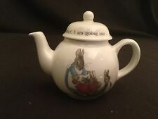 WEDGWOOD PETER RABBIT PETER BUNNY BABY CHILDREN'S MINI TEAPOT TEA POT
