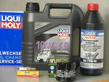 Maintenance - Set Suzuki LT-A LT-F 400 KING QUAD EIGER 4X2 with Oil Filter