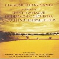 HANS (COMPOSER) OST/ZIMMER - HANS ZIMMER-THE ESSENTIAL FILM MUSIC... 2 CD NEU