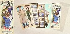 Hetalia the Beautiful World Sticker Col China,Russia Prussia Sweden Denmark + NW