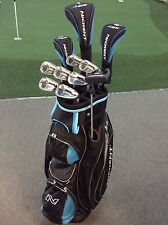 NICKENT 4DX Deluxe Ladies Graphite Golf Pkg - BONUS Cart Bag, Putter & Covers -