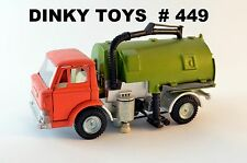 DINKY TOYS Ford Johnston Road Sweeper # 449