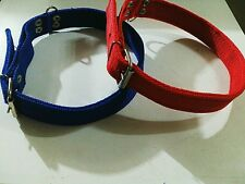 """1+1 OFFER- Dog Collar Belt in 1"""" width For All Pet Neck Size SPECIAL DISCOUNT."""