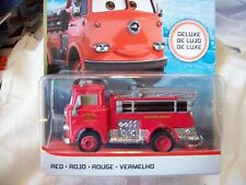 Disney Pixar Cars Deluxe - Red Fire Truck - 2019 release - Radiator Springs