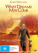 What Dreams May Come DVD ROBIN WILLIAMS OSCAR AWARD WINNER BRAND NEW RELEASE R4