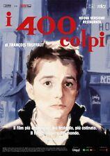 Poster I 400 colpi di F. Truffaut (edizione restaurata 2014) Locandina 33x70