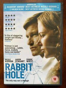 Rabbit Trou DVD 2010 Parent Enfant de Deuil Drame Film Largeur/Nicole Kidman