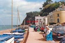 PHOTO  SOMERSET 1987 SHALDON EAST VIEW ON SEA-FRONT TO NESS