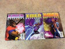 X-MEN UNIVERSE #11,12,13 LOT OF 3 F/VF 2000 MARVEL