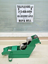 Greenlee 25273 1 12 Amp 2 Imc Roller Support Unit For 555 Pipe Conduit Bender