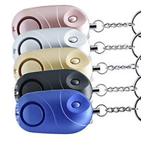 Safe Sound Personal Emergency Alarm Keychain 120-130db Safety Security For Women