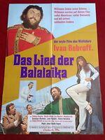 Das Lied der Balalaika Kinoplakat A1 Ivan Rebroff, Katja Ebstein, 1971