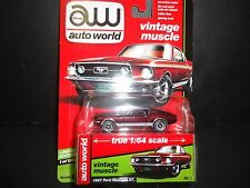 Auto World Ford Mustang GT 1967 Burgundy 1/64 64062B LTD 1256 units