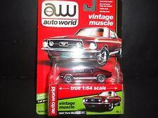 Auto World Ford Mustang GT 1967 Burgundy 1/64 64062B LTD 1256 units