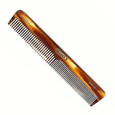 UNISEX 153MM COARSE AND FINE TOOTHED POCKET HAIR COMB KENT BRUSHES HANDMADE