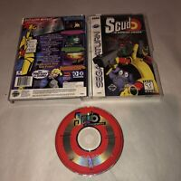 GOOD Cond SCUD THE DISPOSABLE ASSASSIN Sega Saturn Game Complete CIB TESTED