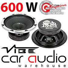 Vibe BlackDeath Pro 8M  8 Inch 600 Watt Midbass Midrange Car Subwoofer Speaker