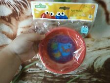 CLOSEOUT SALE! From USA! Sesame Street Fun Meals 2 Pk Red Green BPA FREE #1