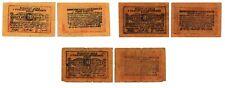 More details for albania 10 20 qindtar shkoder sigurim arke 1920 january very rare abt very fine