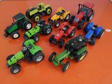 Lot Tracteurs Siku, Ertl, Joal Avec Manquant