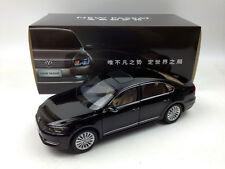 1:18 Shanghai Volkswagen New Passat Black Die-Cast Metal Model