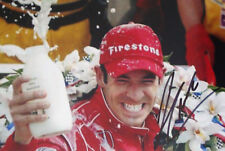 Helio Castro-Neves SIGNED, Victory Lane Portrait , Indianapolis 500 2008
