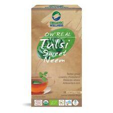 Organic Wellness Tulsi & Sweet Neem Green Tea Bags (USDA Organic) Free Shipping