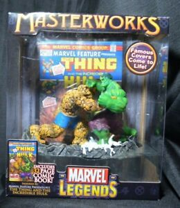 New Marvel Legends Masterworks The Thing vs the Incredible Hulk