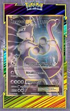 🌈Mewtwo EX Full Art - XY12:Evolutions - 103/108 - Carte Pokemon Neuve Française