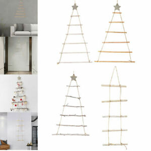Christmas Tree Nordic Style Wall Hanging Jute String for Holiday Xmas Decor