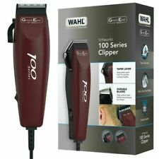 Wahl 100 Series Mains Clipper Trimmer Kit -10 Piece Hair Cutting Kit