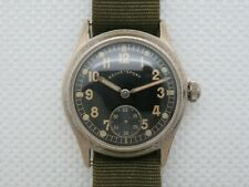 Vintage WWII Revue-Sport Military Service Wristwatch DH Original Dial & Hands