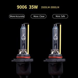 2pcs HeartRay HID Light 9006 4300K Xenon Headlight Lamp Kit Fog Replacement HRZ